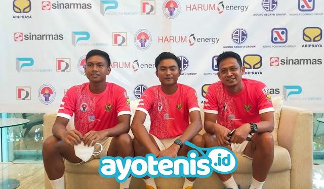 Lawan Barbados di Ajang Davis Cup, Indonesia Kirim Tiga Darah Muda