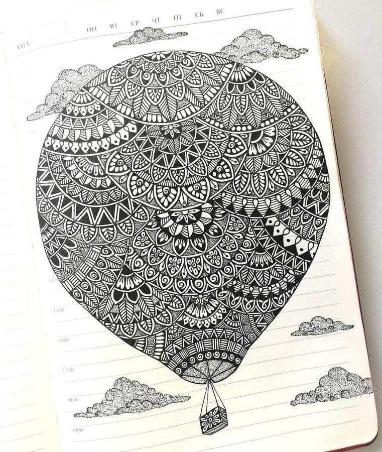 Hot Air Balloon by T. Gunchak