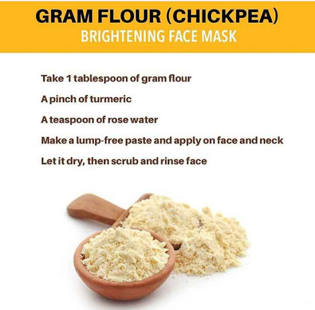 Top 9 Gram Flour Face Packs for Skin Whitening