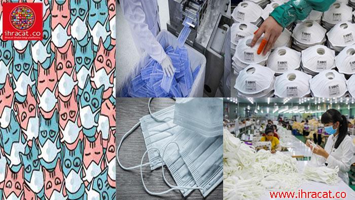 maske ihracatı, mask export