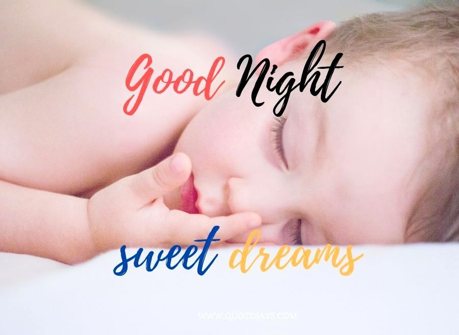 Good Night Little cute baby sleeping