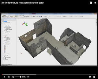 3D GIS for Cultural Heritage Restoration- part 1