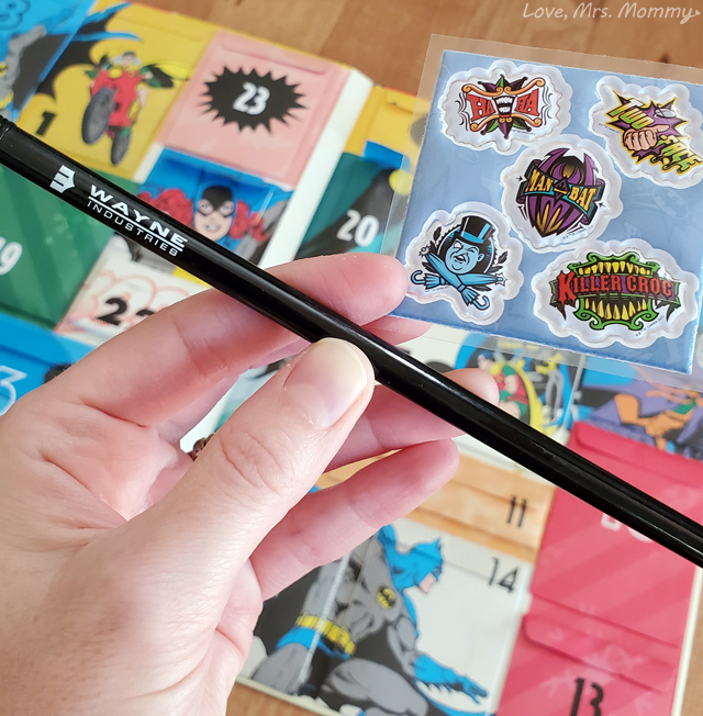 insight editions, advent calendars, batman gifts, batman advent calendar, batman merch, wayne industries