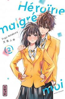 Couverture du manga Héroïne malgré moi tome 2 chez kana