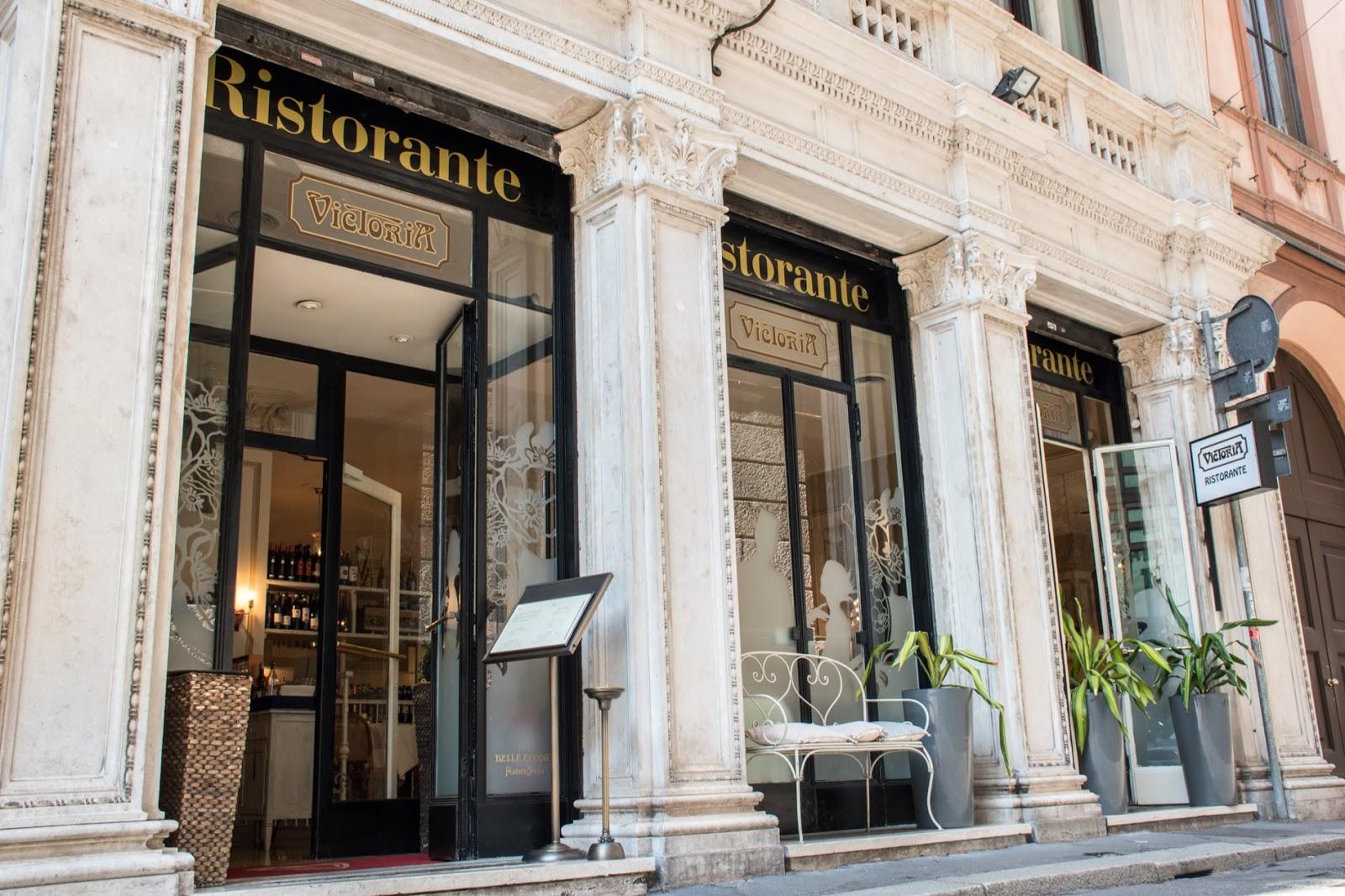 ristorante victoria milano