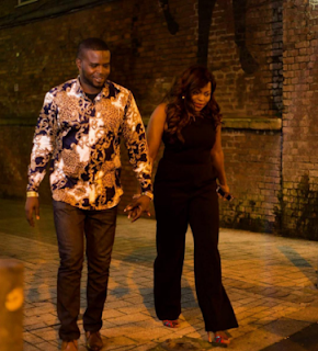 Funke Akindele And Husband Step Out In New Style (See Photo)