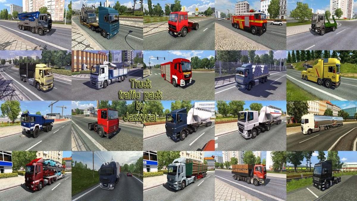 Jazzycat – Truck Traffic Pack v 3.0