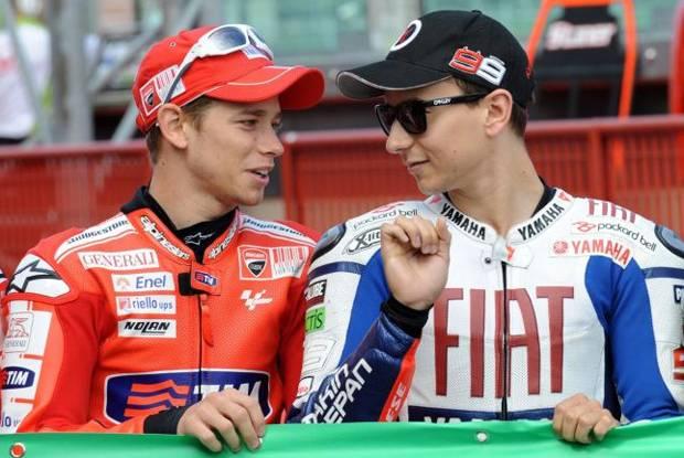 Lorenzo dan Stoner