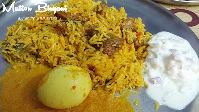Andhra Mutton Biryani