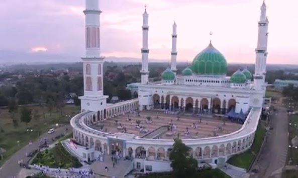 Masjid Agung Madani Islamic Center Rohul