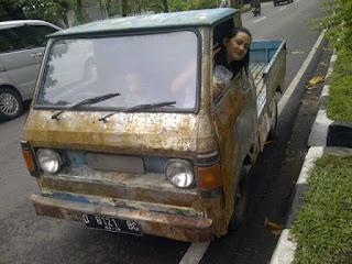 DIJUAL MURAH Pickup Hijet Antik Tidak Termasuk Anak Istri - BANDUNG