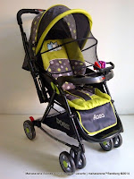 Kereta Bayi Does DS389 Roza - Reversible Handle