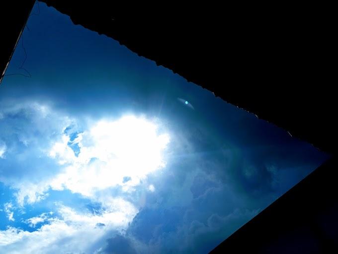 Mengintip Terik Matahari