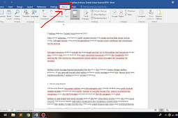 Cara Menghitung Jumlah Kata Pada Microsoft Word