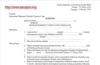 contoh-teguran-lisan-pns-tidak-masuk-kerja-perka-bkn-21-2010-pp-53-2010-docx