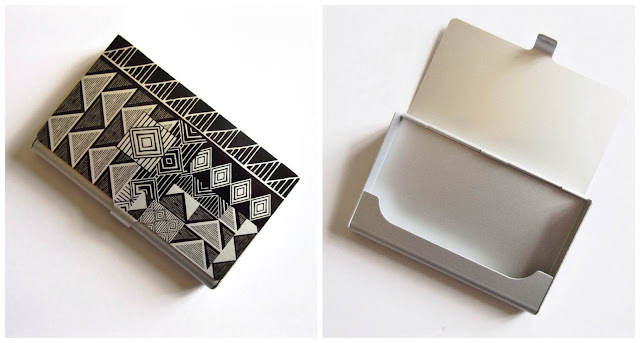 paperchase business card holder