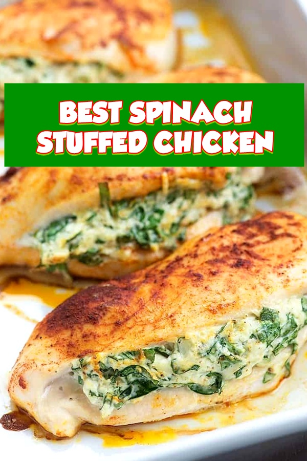 #SPINACH #STUFFED #CHICKEN