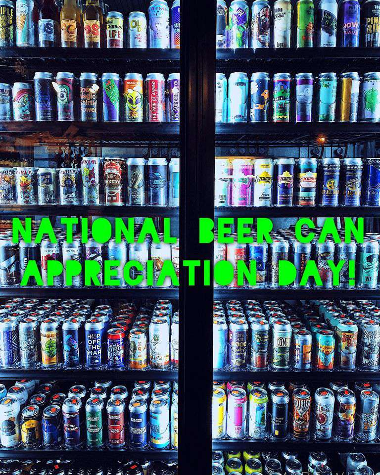 National Beer Can Appreciation Day Wishes Unique Image