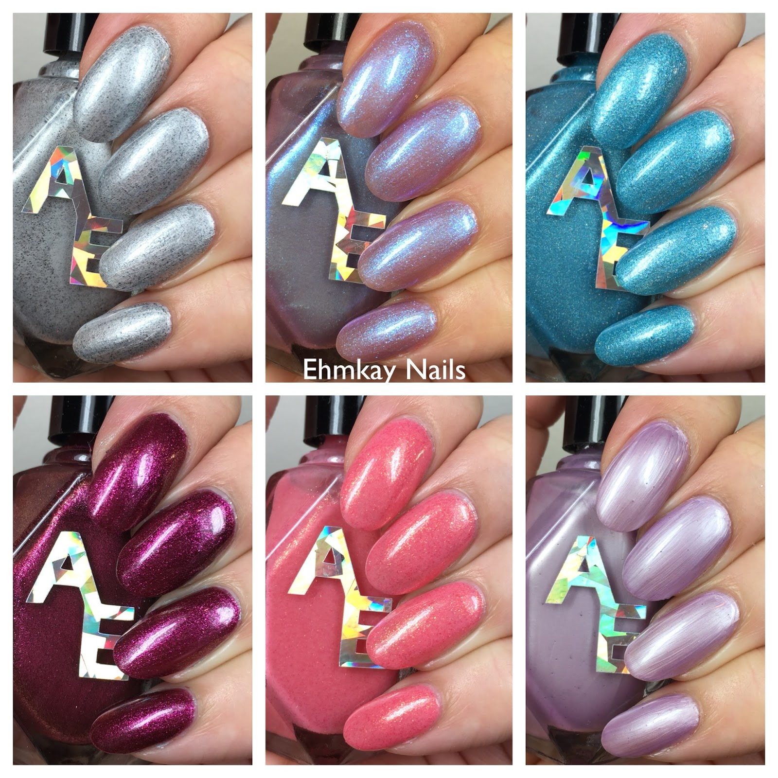 ehmkay nails: Alter Ego Fan Favorites Collection, Swatches