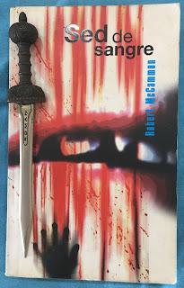 Portada del libro Sed de sangre, de Robert McCammon