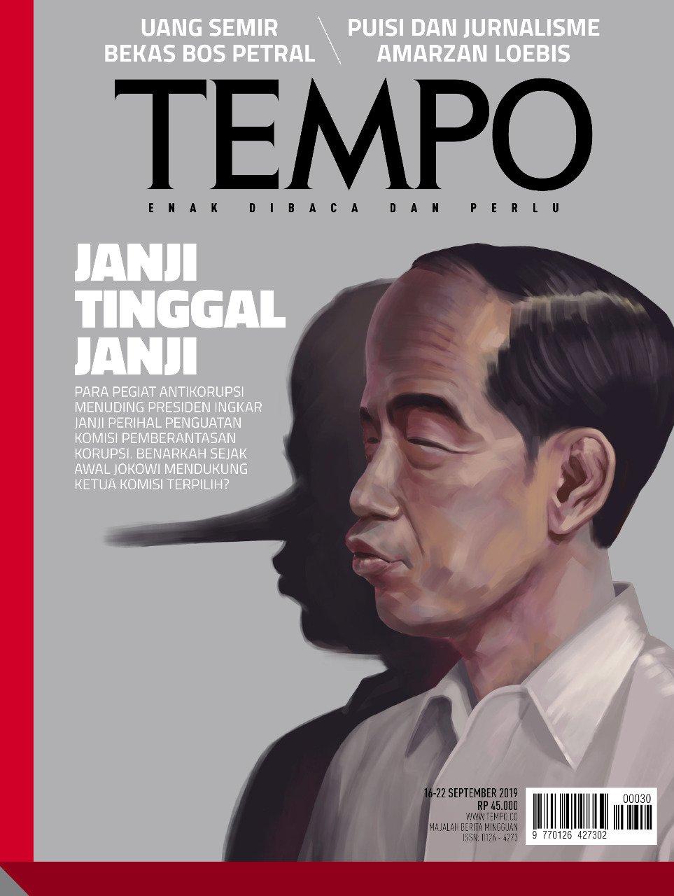Cover Majalah Tempo Terbaru: Bayangan Berhidung Panjang
