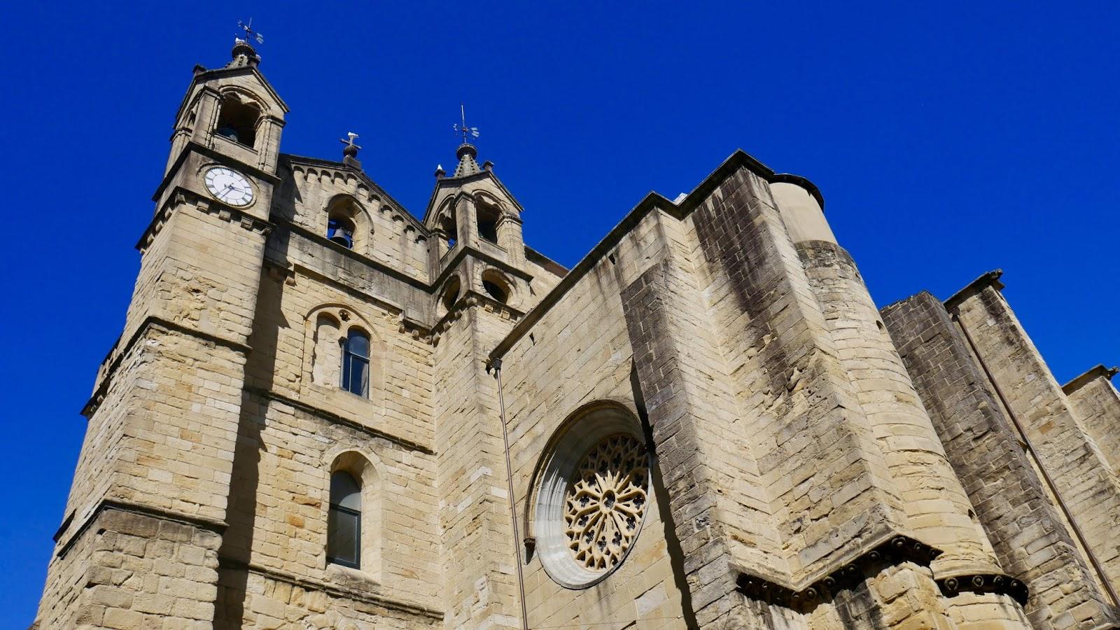 Église Saint Vincent Saint-Sébastien Pays Basque Espagne