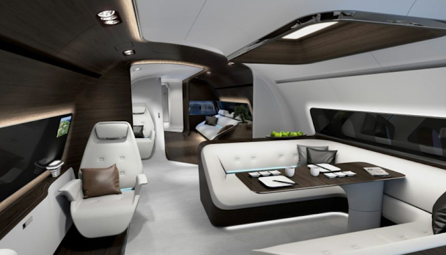 Mercedes-Benz Premieres VIP Aircraft and New Yacht