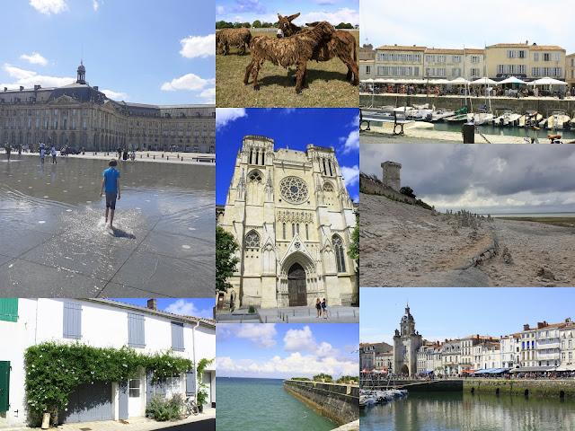 Burdeos, la Rochelle e isla de Re