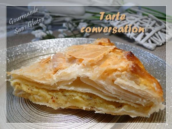 Tarte conversation, sans gluten