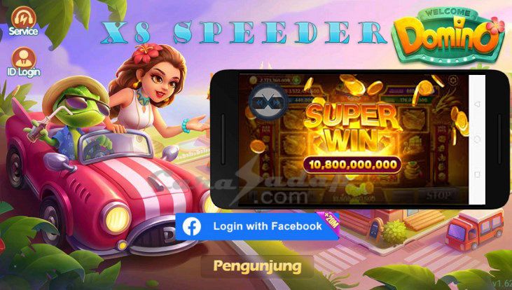 x8 speeder apk domino