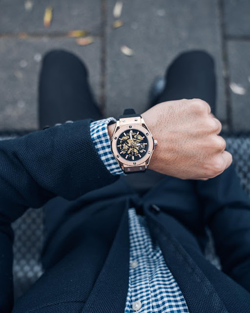 Lord Timepieces Bolt Rose Gold