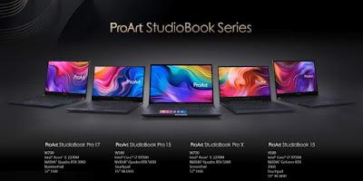 Desain Asus Proart Studiobook Pro 17