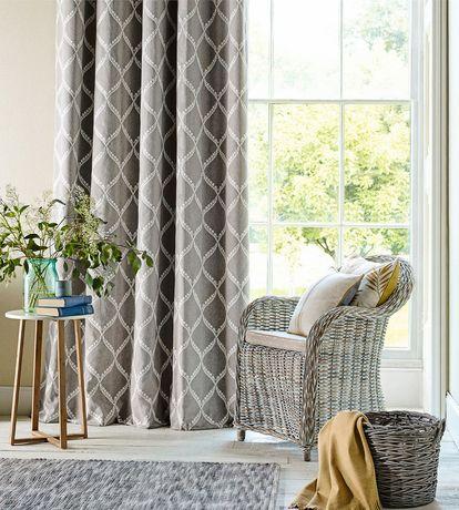 cortinas cinza