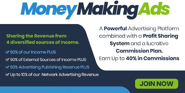 MoneyMakingAds - чрезвычайно мощный рекламный сайт.