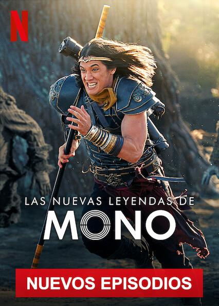Las nuevas leyendas de Mono (2020) Temporada 2 NF WEB-DL 1080p Latino