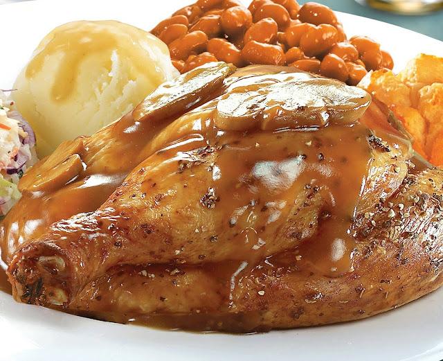 Resepi Ayam Panggang ala-ala Kenny Roggers