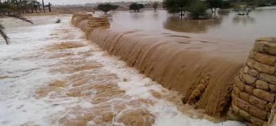 الارصاد الجوية, الأماكن المهددة بالسيول في مصر,