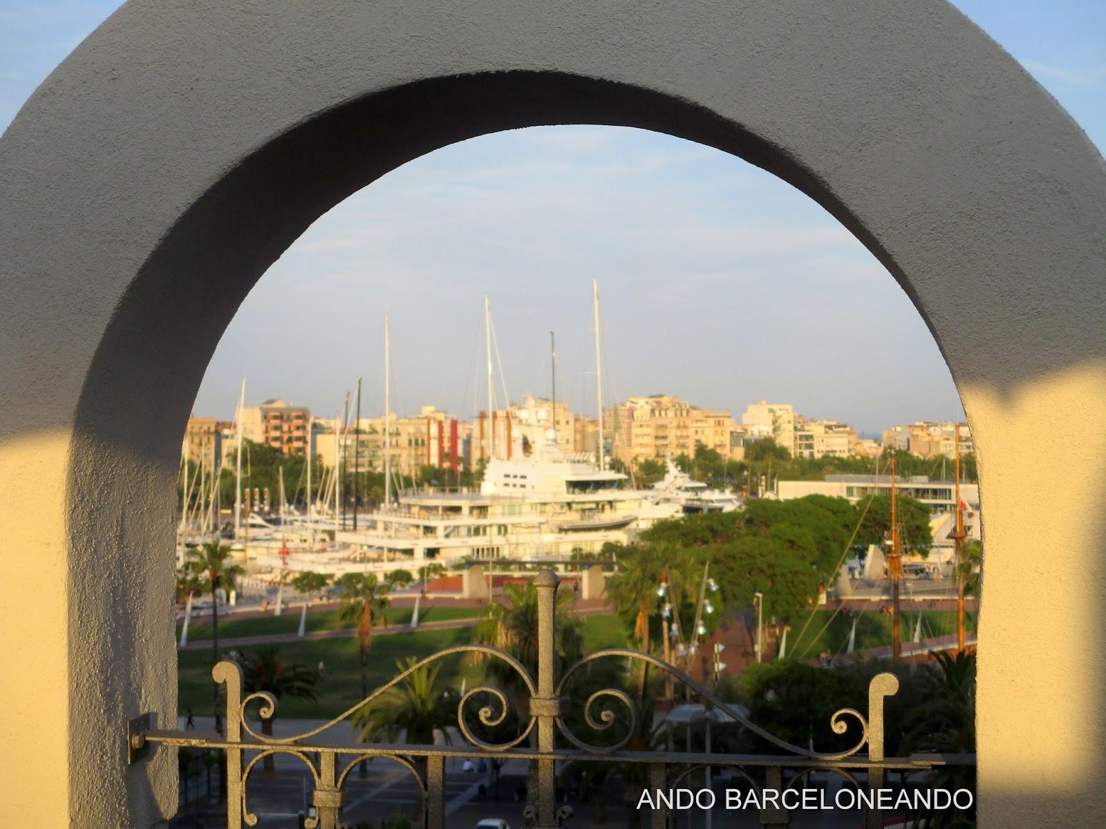 Ando Barceloneando 5ª Parte A Vista D Hotel 2016