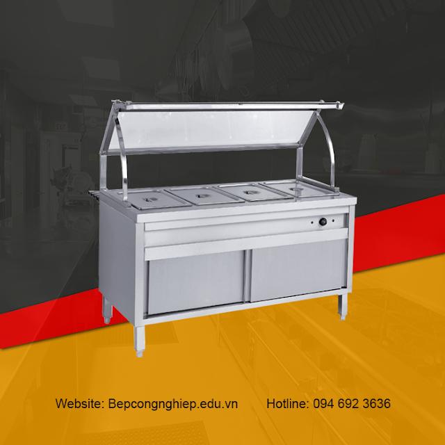 Tủ giữ nóng thức ăn mẫu đẹp, giá rẻ, sản xuất theo yêu cầu