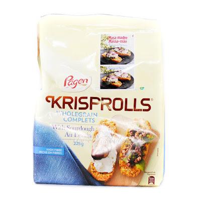 Krisprolls integrales masa madre