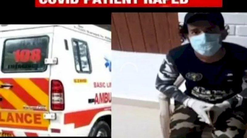 Astaga! Pasien Covid-19 Diperkosa Supir Ambulans Saat Perjalanan ke RS