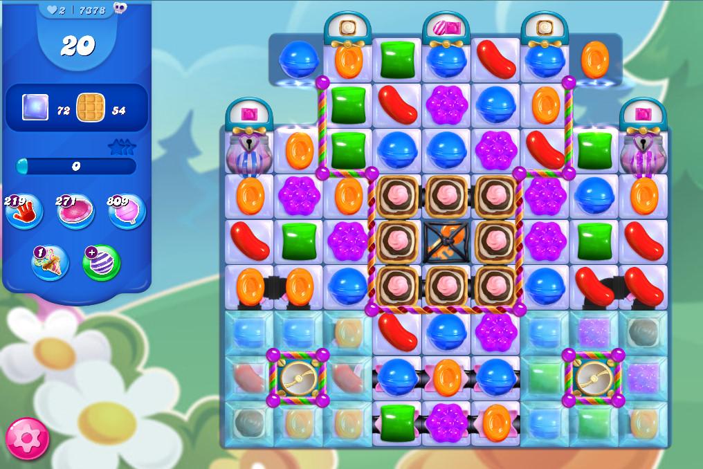 Candy Crush Saga level 7378