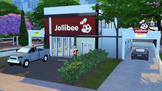 Sims 4 Pinoy Stuff Pack Jollibee Lot