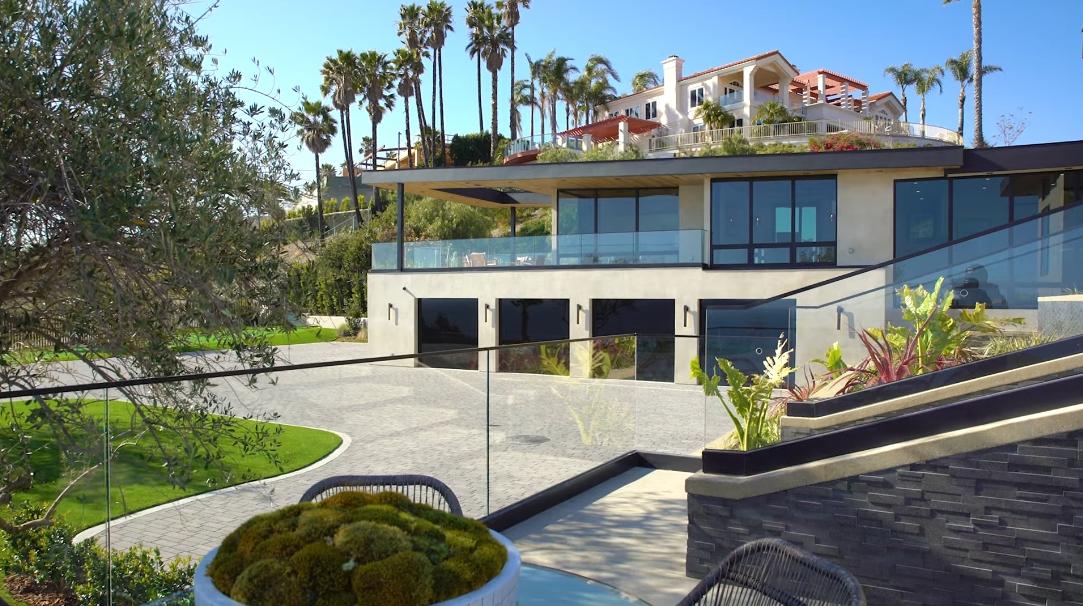 42 Interior Design Photos vs. 3881 Puerco Canyon Rd, Malibu Ultra Luxury Mansion Tour