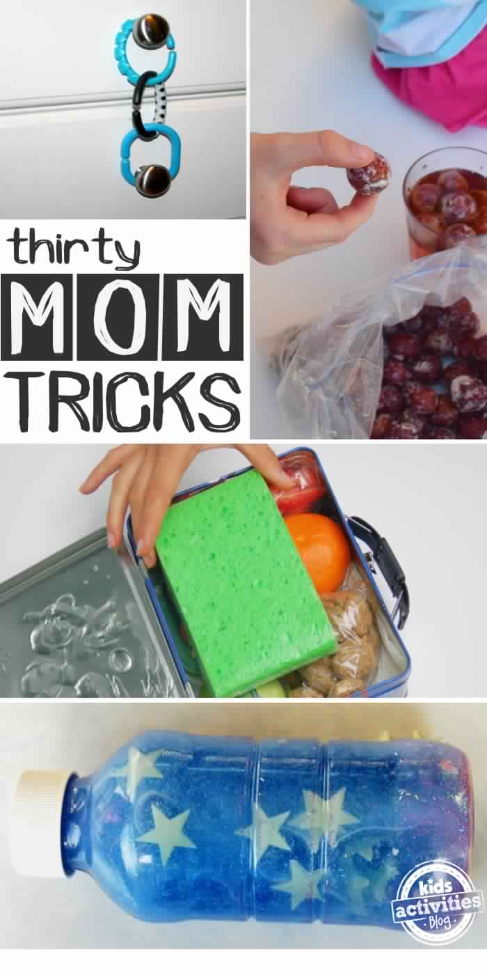 30 Mom Tricks that will Make You Look Smart