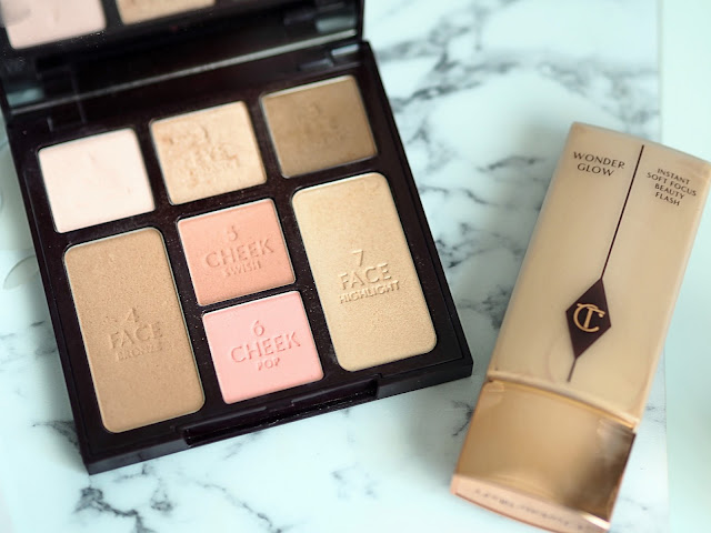 charlotte tilbury look in a palette and wonderglow