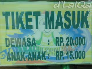 harga tiket masuk