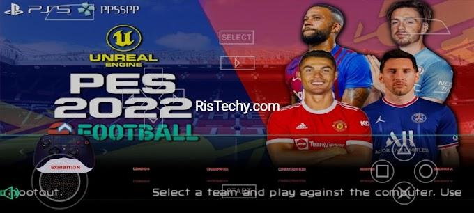 PES 2022 PPSSPP - Download Da Câmera PSP Iso PS4