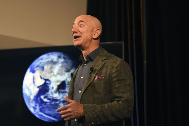 Jeff Bezos became part of history on July 20