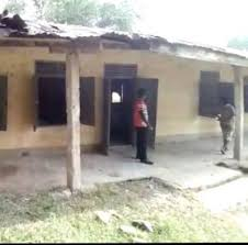 School building collapses on boy